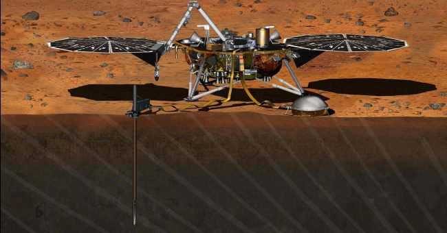 Фото - Модуль InSight успешно отправился на Марс