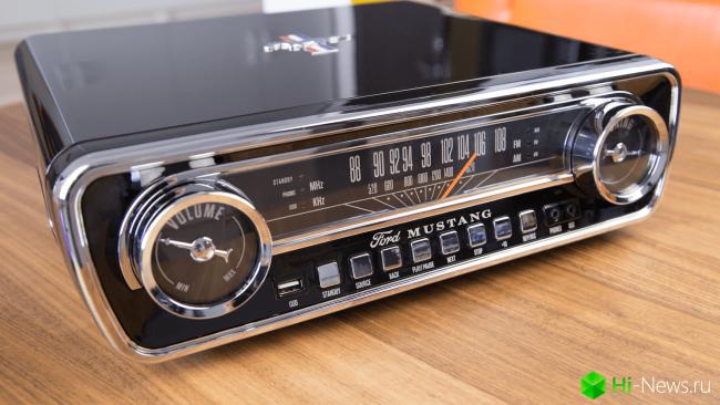 Фото - ION Mustang LP — как легендарный Ford, только проигрыватель