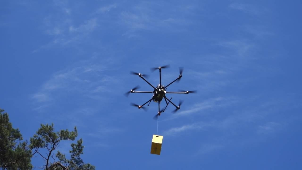 Фото - В Москве тестируют систему доставки грузов дронами