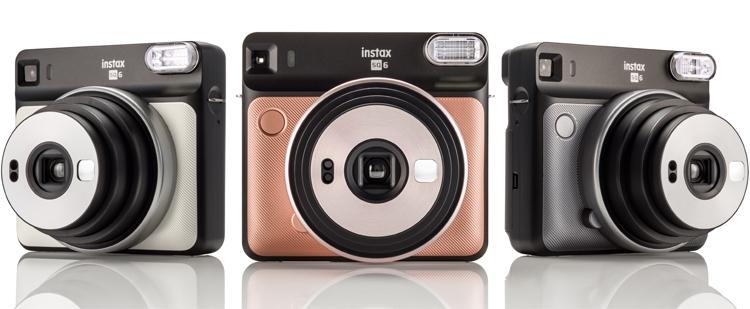 Фото - Fujifilm Instax SQ6: аналоговая фотокамера для получения квадратных снимков»
