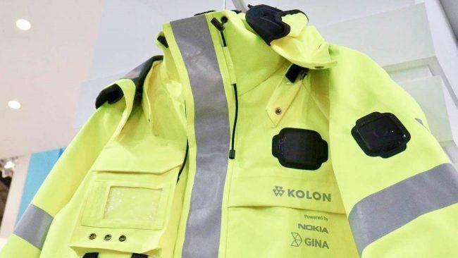 Фото - Nokia представила модульную смарт-куртку