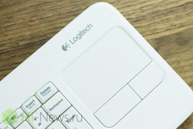 Фото - Обзор Logitech Keyboard k400r — клавиатура с тачпадом