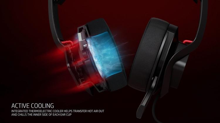 Фото - Гарнитура HP Omen Mindframe охлаждает уши пользователя»