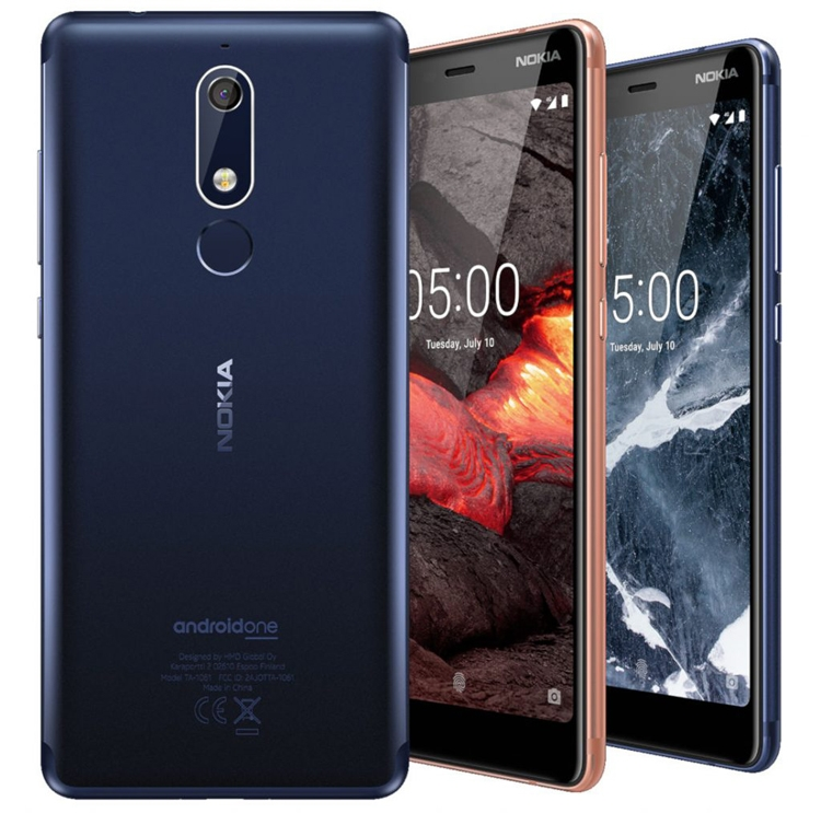 Фото - Дебют смартфонов Nokia 5.1, Nokia 3.1 и Nokia 2.1 на базе Android Oreo»