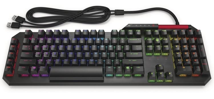 Фото - HP Omen Sequencer Keyboard и Reactor Mouse: клавиатура и мышь для игровых ПК»