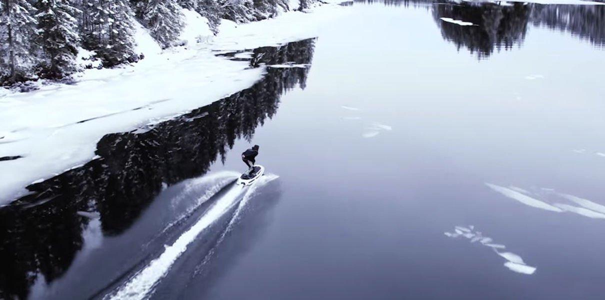 Фото - Шведы разработали скоростную электродоску для вейкбординга