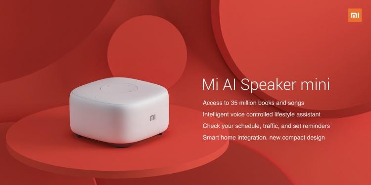 Фото - Xiaomi Mi AI Mini: компактная акустика для дома с набором голосовых функций»