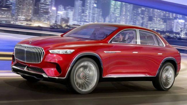 Фото - Mercedes представила концепт роскошного электрического Maybach