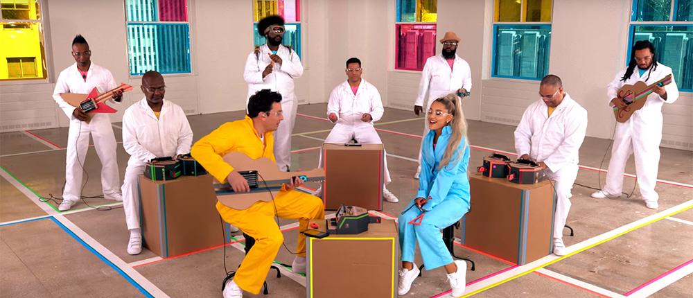 Фото - Звезда Nickelodeon спела при помощи Nintendo Labo в своем новом клипе (видео)