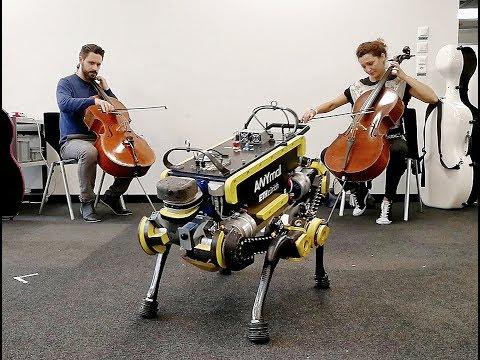 Фото - Видео: четвероногого робота обучили танцам»