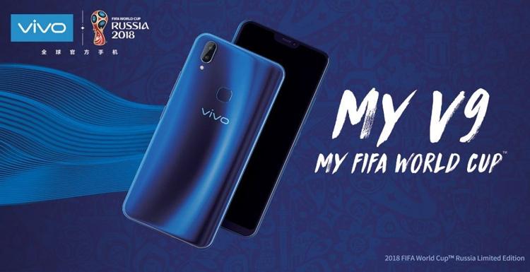 Фото - Vivo представила «футбольную» версию смартфона V9 к чемпионату FIFA в России»