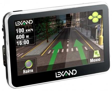 Фото - Lexand Si-535: компактный 5-дюймовый навигатор с приятным дизайном