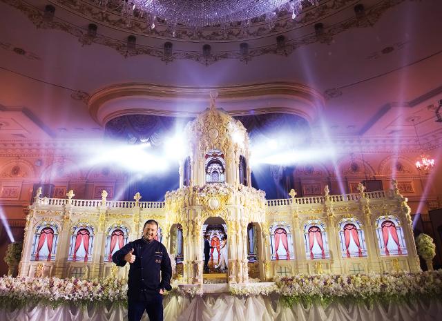 Фото - Ренат Агзамов и его торты-дворцы: интервью со звездным кондитером