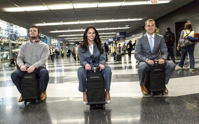 Фото - Modobag: некогда объяснять, запрыгивай на чемодан!