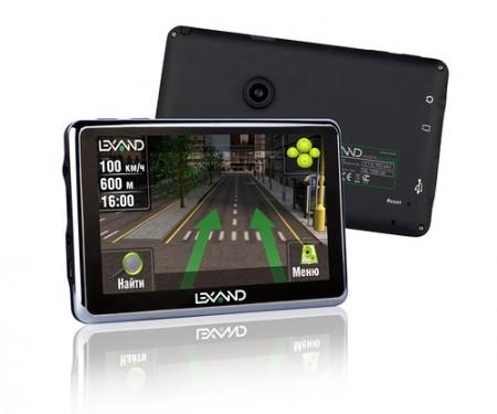 Фото - Первый гибридный автогаджет Lexand: GPS-навигатор со   встроенным регистратором