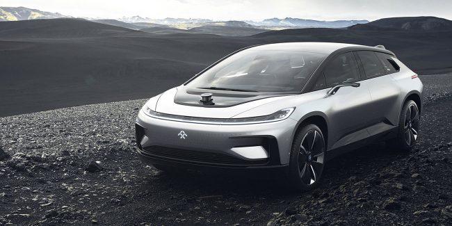 Фото - Электромобиль Faraday Future будет соревноваться с Tesla в гонке Pikes Peak