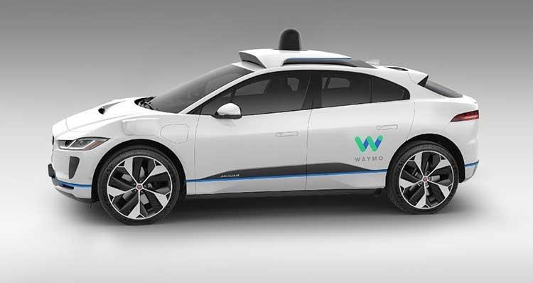 Фото - Waymo покупает 20 000 электромобилей Jaguar I-PACE»