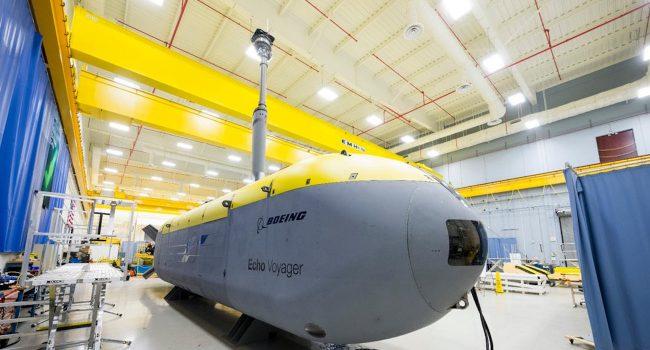 Фото - Робот-субмарина Boeing Echo Voyager впервые вышла в открытое море