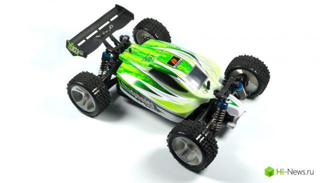 Фото - Обзор RC модели автомобиля WLtoys A959-B — жажда скорости