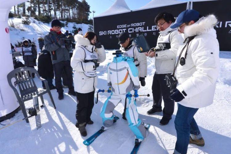 Фото - В Южной Корее завершились первые соревнования роботов-лыжников»
