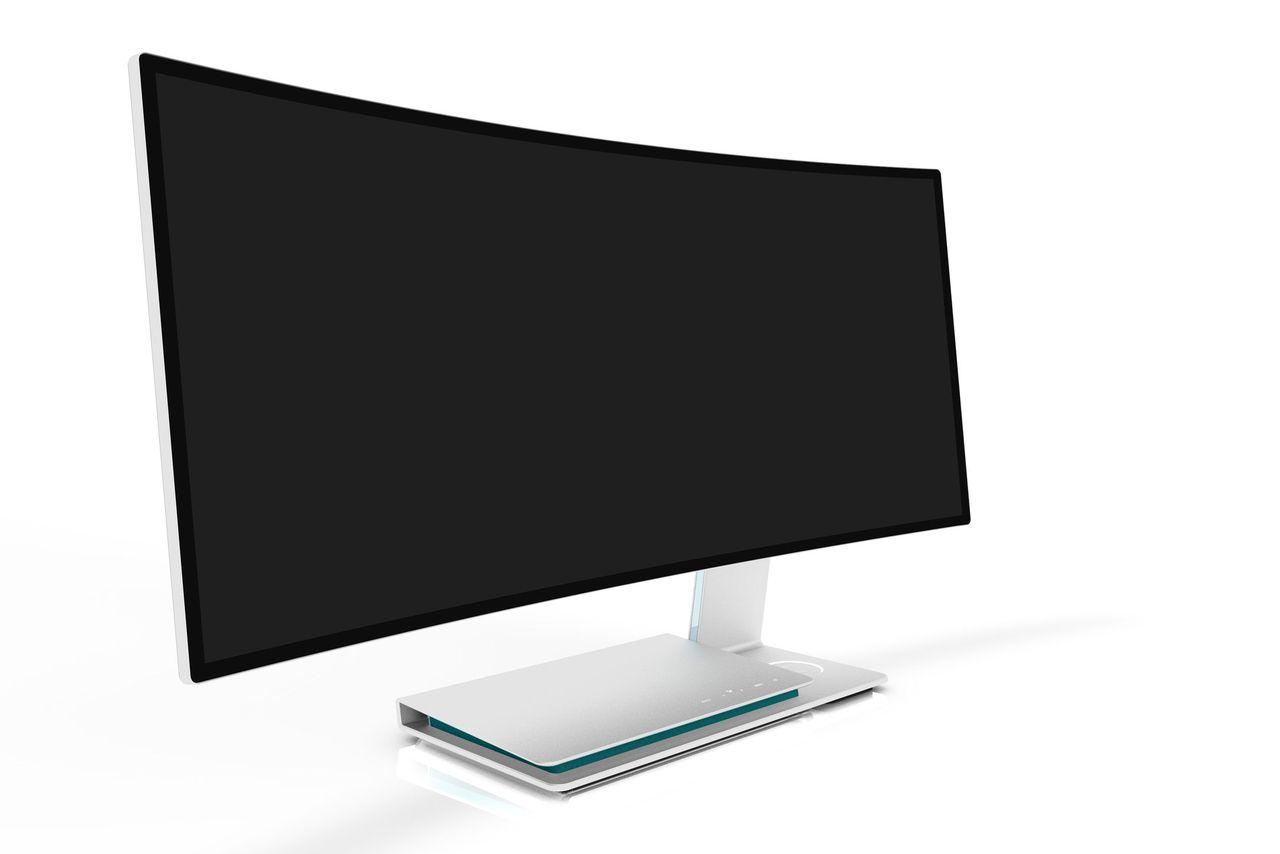 Фото - #computex | U Surfing — монитор от TPV с беспроводной зарядкой
