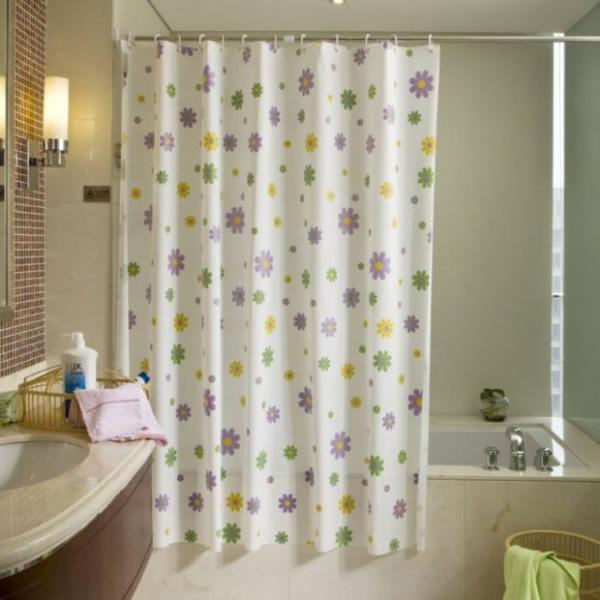 Фото - 6 советов, какие шторки в ванную комнату выбрать