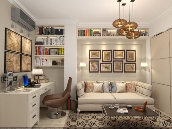 Фото - 14 идей для дизайна комнаты без окна + фото