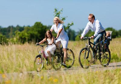 Фото - В чем польза велопрогулок?