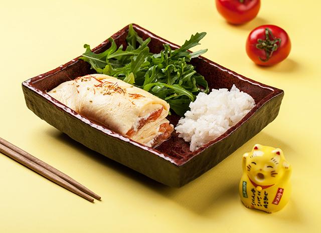 Фото - Рецепт для воскресного завтрака: японский омлет с форелью