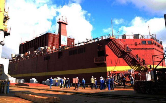 Фото - Россия запустила единственную в мире плавучую атомную электростанцию