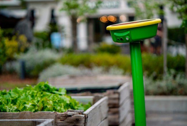 Фото - Робот-лейка GardenSpace на солнечных батареях позаботится о саде