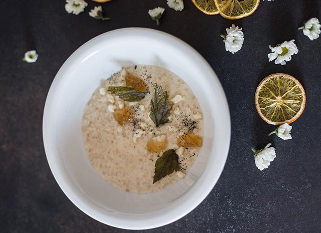 Фото - Рецепт для воскресного завтрака: овсянка с марципаном и лимонным желе