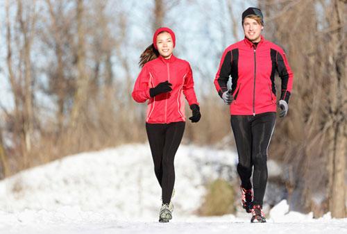 Фото - Бег зимой польза или вред для организма