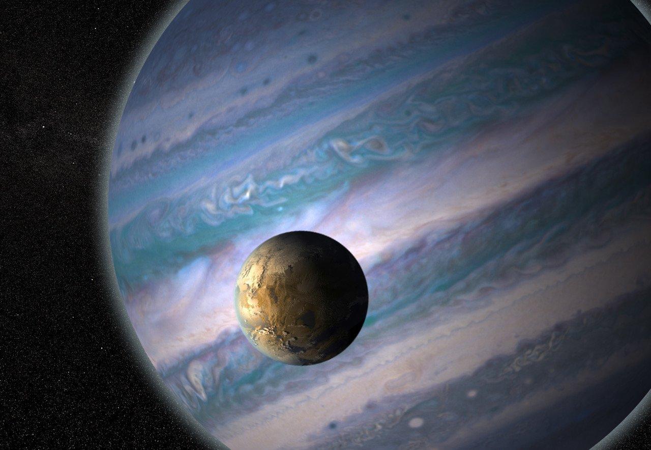 Фото - Обнаружена еще 121 планета с возможно обитаемыми спутниками