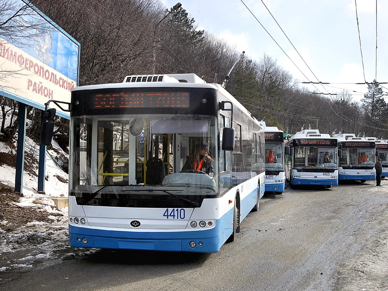 Фото - ГЛОНАСС появится во всех троллейбусах, курсирующих по Крыму»