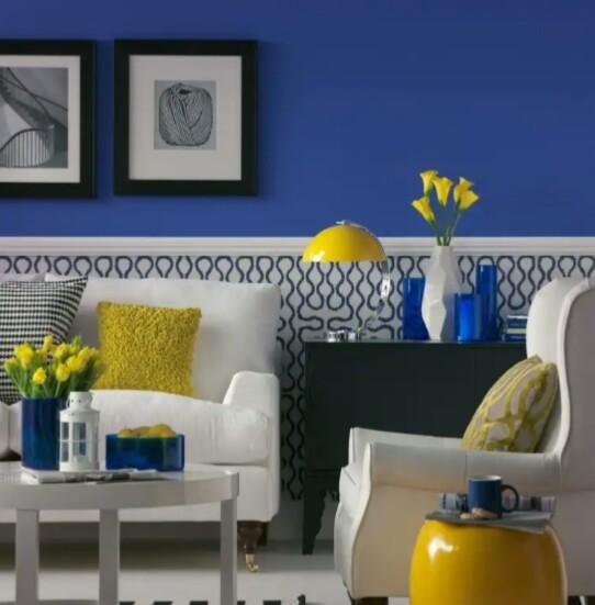 Фото - 7 советов по использованию синего цвета в интерьере + фото