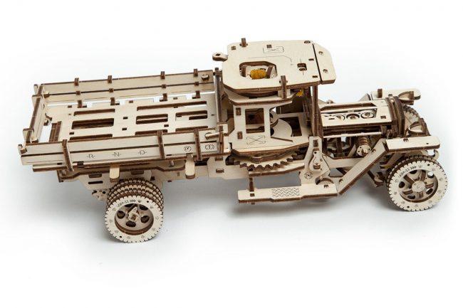 Фото - Грузовик Ugears UGM-11: невероятно технологичный конструктор