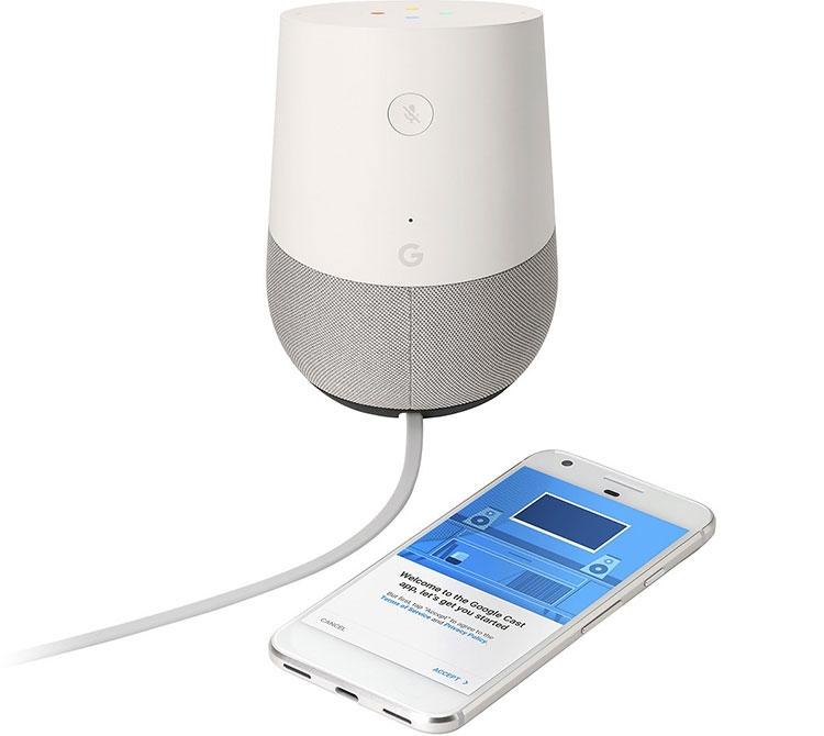 Фото - Google Home — переосмысление Nexus Q со взглядом на Amazon Echo»