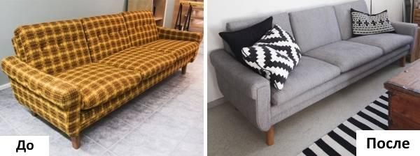 Фото - 8 советов, как выполнить перетяжку дивана своими руками