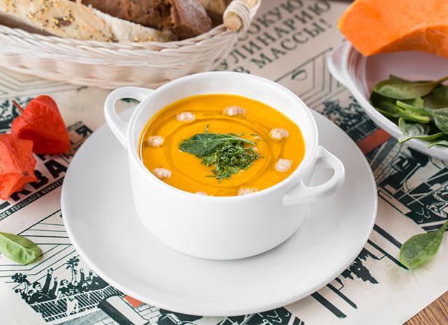 Фото - Осень в твоей тарелке: тыквенный суп с кремом из печеных каштанов