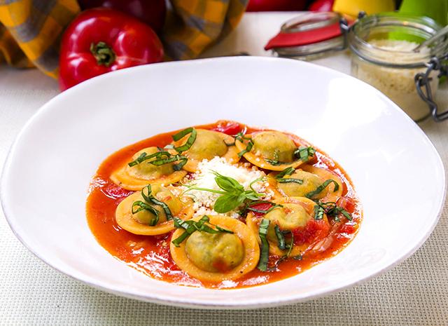 Фото - Ужин по-итальянски: равиоли с рикоттой