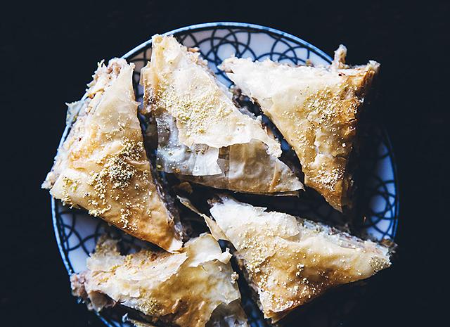 Фото - Рецепт для воскресного завтрака: яблочная пахлава
