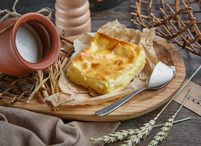 Фото - Рецепт для воскресного завтрака: ачма с сыром
