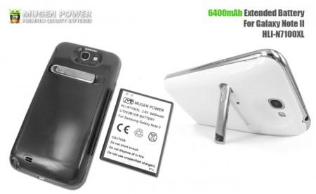 Фото - Mugen Power вдвое увеличит мощность батареи Galaxy Note II