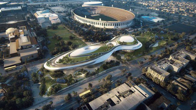 Фото - Джордж Лукас построит в Лос-Анджелесе музей стоимостью миллиард долларов