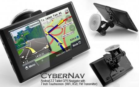 Фото - Chinavasion начала продажи GPS-навигатора CyberNav CVMF-TR38-N1