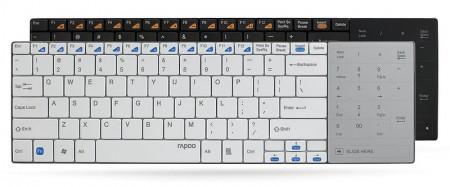 Фото - RAPOO представляет E9080, ультратонкую беспроводную клавиатуру с сенсорным блоком