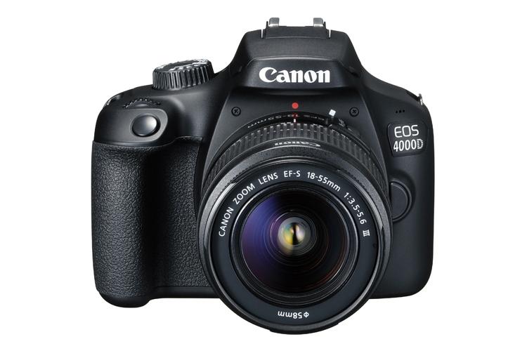 Фото - «Зеркалка» Canon EOS 4000D получила 18-Мп датчик APS-C»