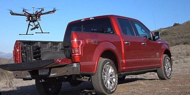 Фото - В Ford планируют использовать дроны для помощи беспилотным авто