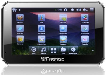 Фото - Навигатор Prestigio GV5500 Android – Продукт Года 2012!